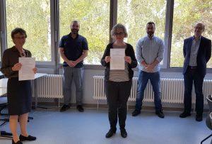 Kooperationsvertrag mit der Beruflichen Schule Waiblingen